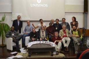 Conferencistas do I Seminário Internacional Pós-Colonialismo, Pensamento Descolonial e Direitos Humanos na América Latina, ocorrido nos dias 04 e 05 de novembro  de 2013, na Unisinos.